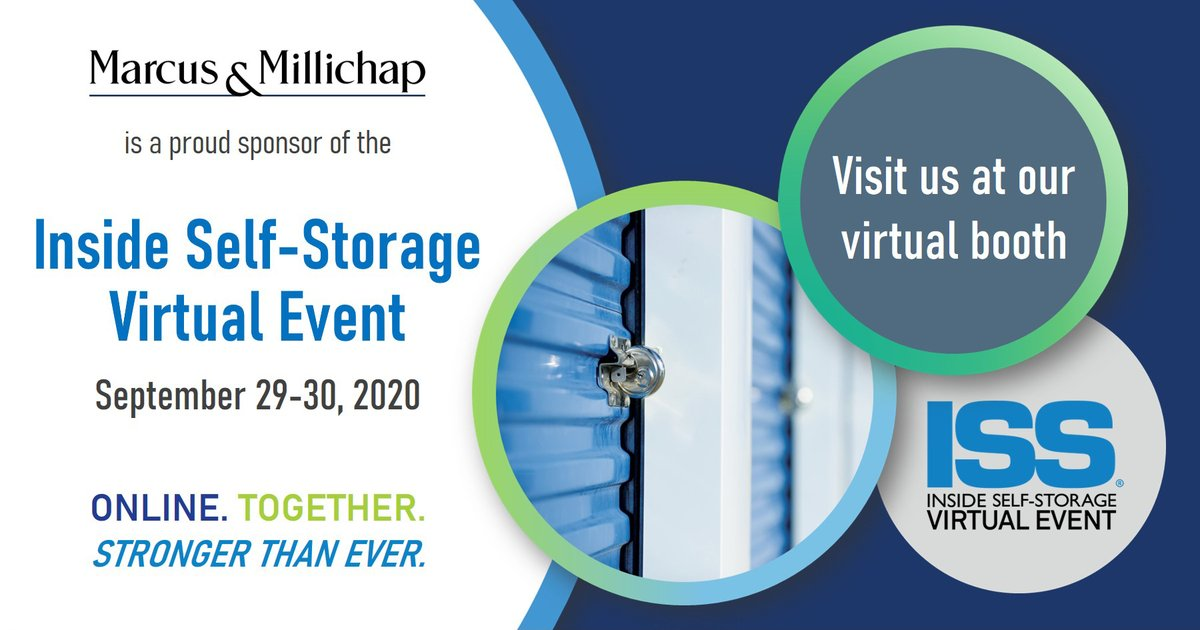 We are proud to sponsor of the Inside Self Storage Virtual Event on Sept. 29-30. Visit our virtual booth to connect with investment professionals who have vast experience handling all types of storage facilities. Registration is free. Sign up now at https://t.co/zPhmHfz54O  #CRE https://t.co/cZV4yKCuGh