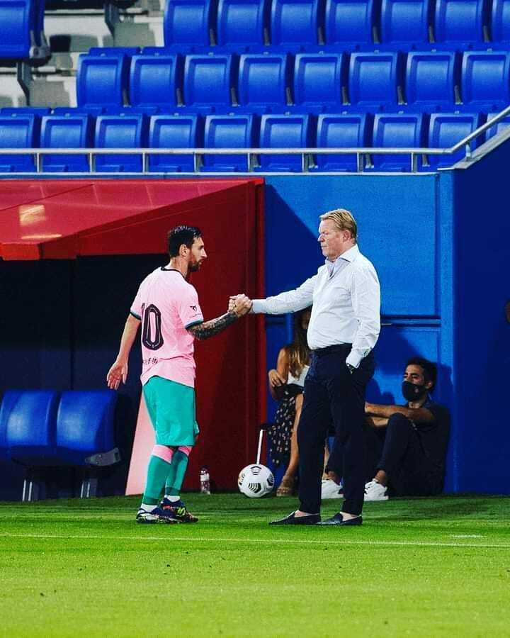 🤝 Leo Messi and Ronald Koeman  Barcelona-Barca Page: https://t.co/ZWP88vMtBu Barcelona-Barca Instagram: https://t.co/nfYiLeAKIN Barcelona-Barca Twitter: https://t.co/iS9JvueU7Q  #fcb #fcbarcelona #messi #barcelona #Barcelona-Barca #lm10 #ucl #laliga #barça #forçabarça #footba… https://t.co/BloE1ZRChM