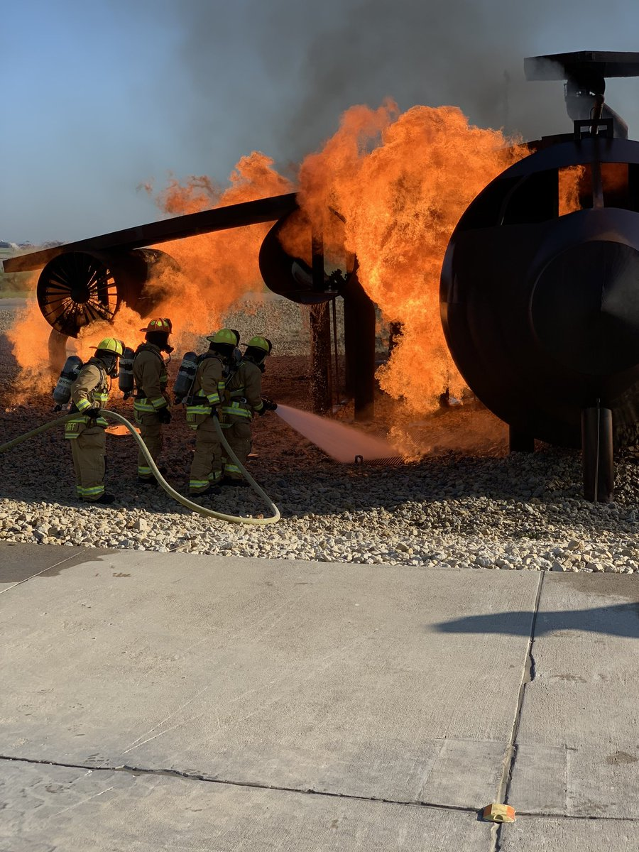 Tomorrow morning Airport Police and Fire will be conducting our FAA Part 139 Tri-Annual Mass Disaster Exercising. Starts at 9:00am. We will be hosting 19 Mutual Aid Agencies. During this exercise we will be taking COVID-19 precautions. #savinglives #ICTdrill #ARFF @FlyICT https://t.co/1bBkIDFnId