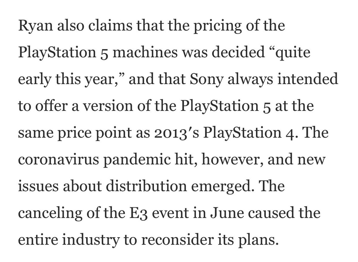 Daniel Ahmad On Twitter There Are Some Other Interesting Quotes In This Article Including A Section On Cross Gen Games And How They Are Still Built From The Ground Up For Ps5