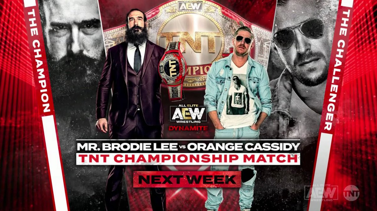 AEW TNT Title Match And A Big Six-Man Tag Match Announced For Next Week's Dynamite