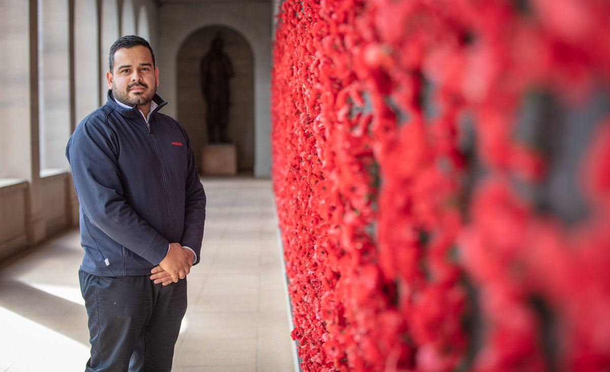 """It's in our DNA this place, & it's a part of who we are, so we need to invest in that, & maintain it, & develop it, & make it better and better"". Oscar Comandari is one of the veterans working on the @AWMemorial development project. https://t.co/pxkOWKvhRa #OurVeterans #TYFYS https://t.co/5ljwbmCw1E"