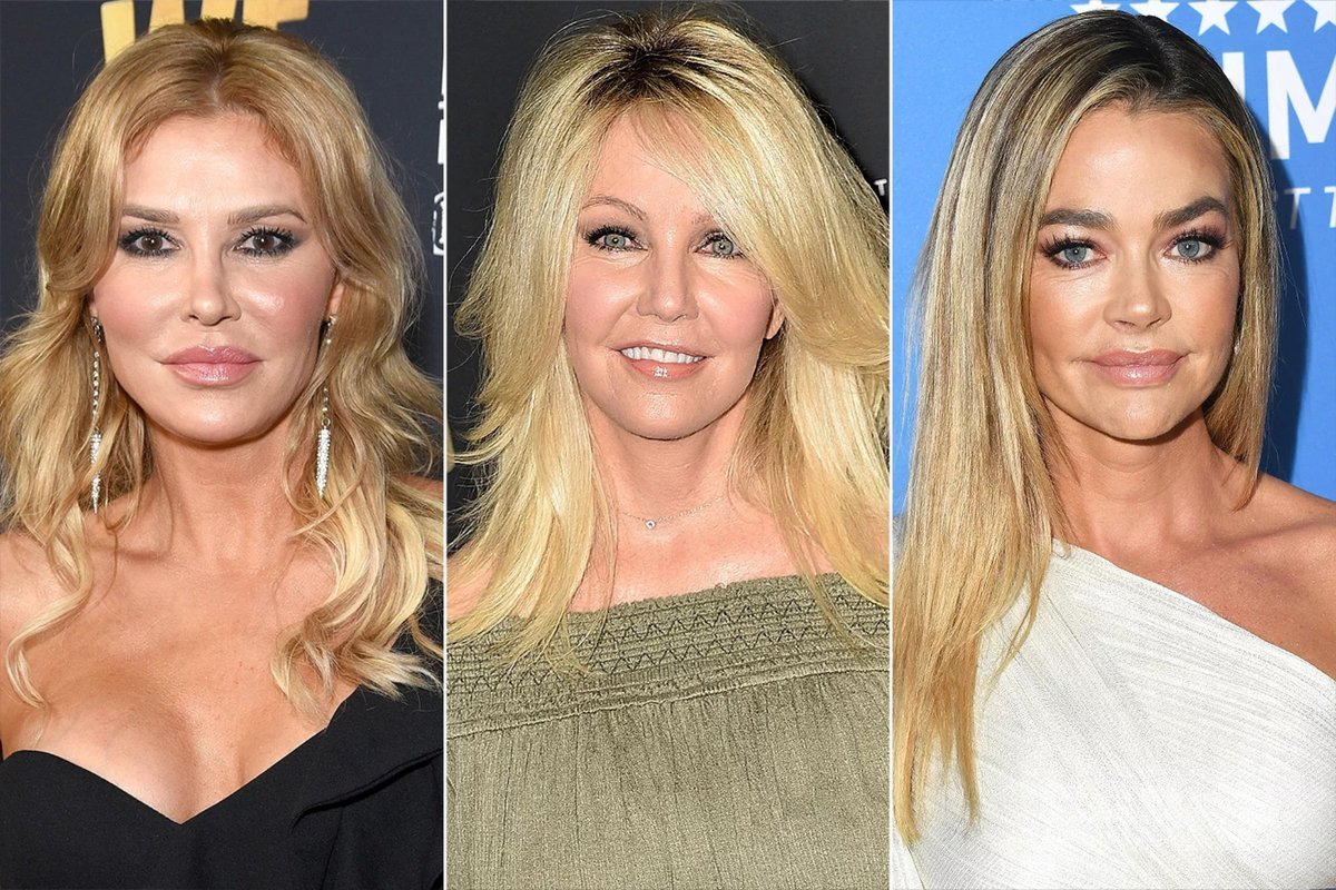 Brandi Glanville Claims Heather Locklear Reached Out to Support Her During Denise Richards Drama Heather and Brandi texted during the season. Heather & Denise have a famous ex in common. Denise dated Richie Sambora for about a year following his split from Heather #RHOBH https://t.co/eALqtZGBOA