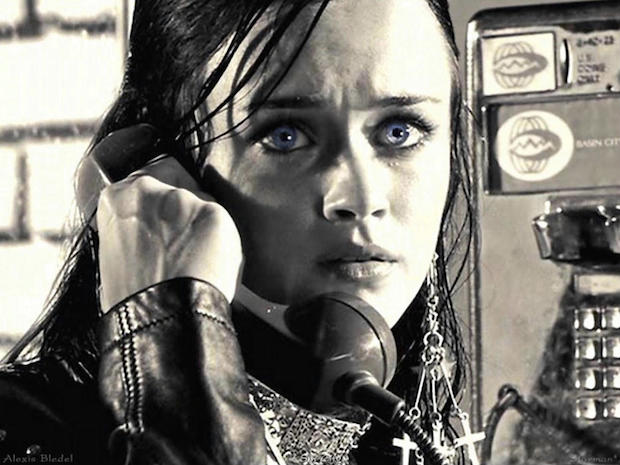 Happy birthday to Alexis Bledel, who portrayed Becky in the 2005 neo-noir film \Sin City.\