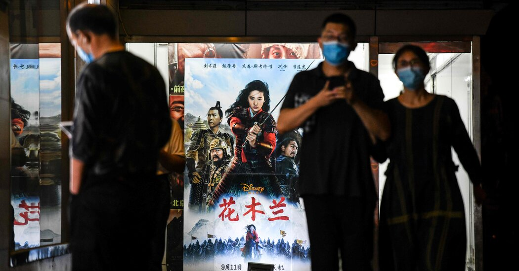 Disney's 'Mulan' Disappoints at China Box Office https://t.co/u0bGaDdg6E https://t.co/6FwaTS3Jm1