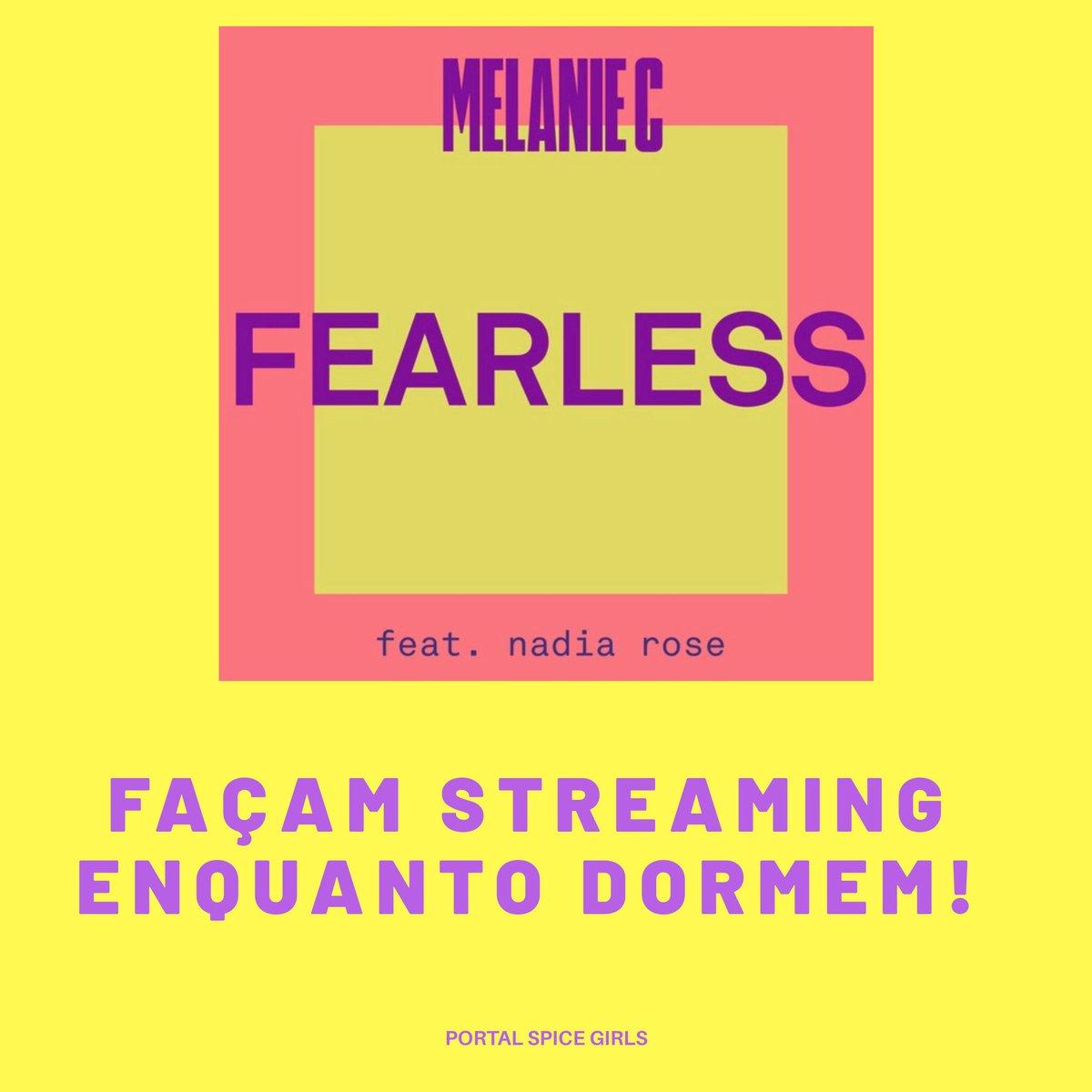 Faça streaming em #Fearless enquanto dorme!  Escolha a sua plataforma de áudio streams preferida: 🌟https://t.co/DWBqXYE7jg   #MelanieCxNadiaRose https://t.co/YaddgDbcJV