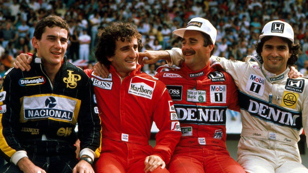 Poste uma foto do ano em que você começou a assistir Fórmula 1 e abra o varandão da saudade. #F1 https://t.co/x7nvOmJdGt