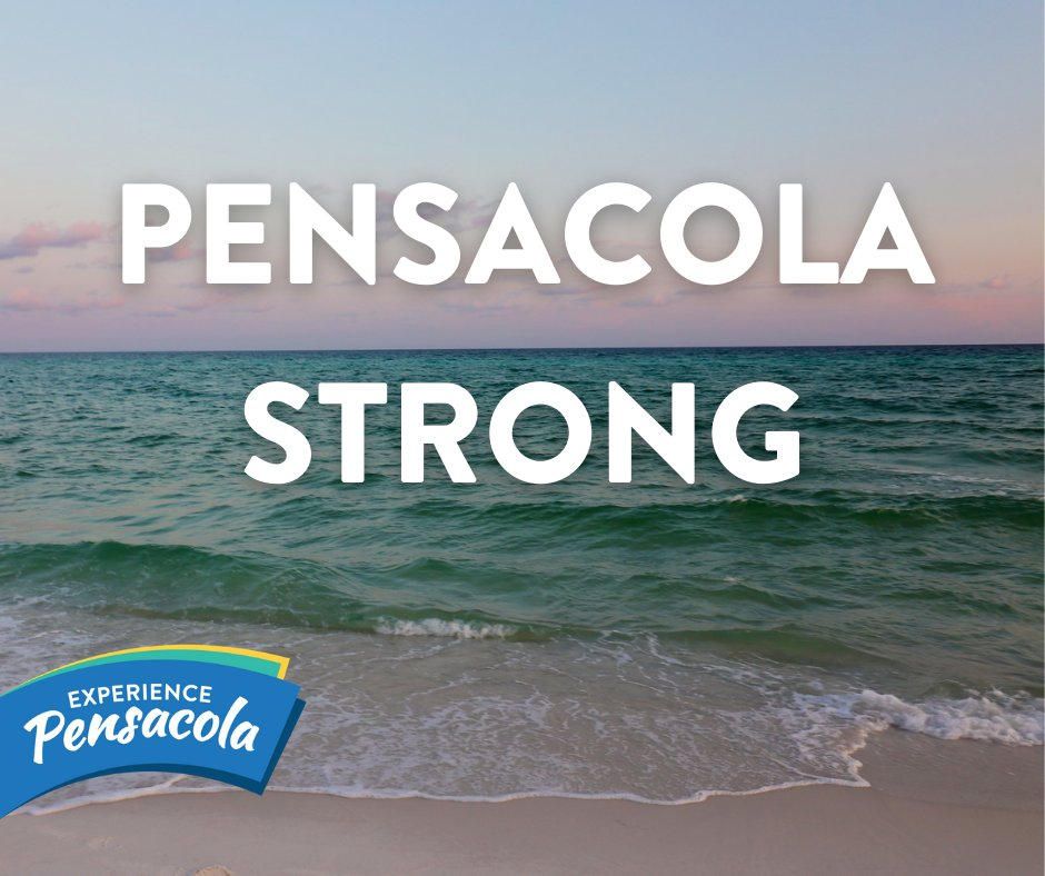 Sending love and prayers to all of those in the Pensacola Bay Area and the surrounding Gulf Coast affected by Hurricane Sally 💙   For official updates on emergency management, visit https://t.co/g79gVM3YeQ  Stay strong, we're in this together 💚 https://t.co/8Z5zpWcGds