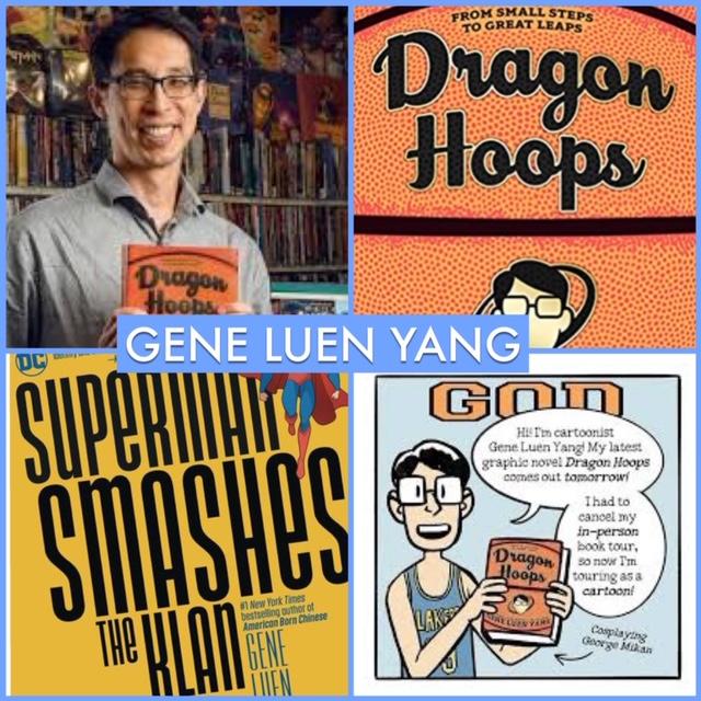 COMIC NEWS INSIDER 1085 - CNI Unplugged: @geneluenyang! https://t.co/BApvImMXsO #ComicNewsInsider #GeneLuenYang #DragonHoops #SupermanSmashesTheKlan https://t.co/DtYxQJl79D