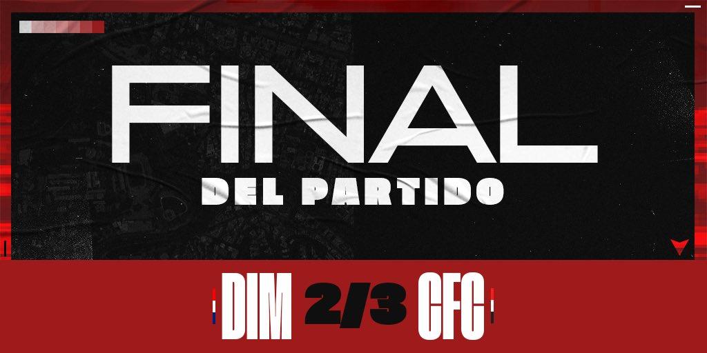 #Libertadores | @DIM_Oficial 2-3 @Caracas_FC | 90+4' | FINAL DEL PARTIDO ¡¡VICTORIA AVILEÑA EN MEDELLÍN!!  🔴⚫️ #SabránQuéEsCaracas https://t.co/lFRVNXe4MG