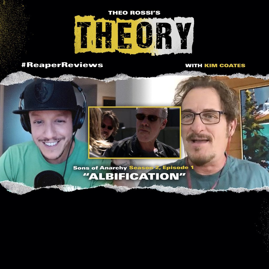 The BEST @KimFCoates will look all week on the NEW #THEOryPOD  👑🌊👑 #ReaperReviews  ⬇️@YouTube⬇️   https://t.co/qA0iWkHONu https://t.co/mniKLMHnMV