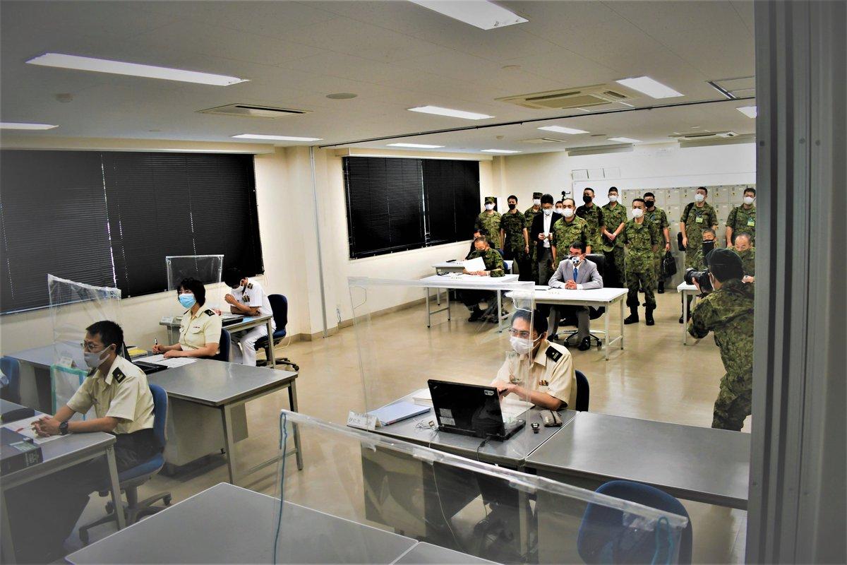 "陸上自衛隊 小平駐屯地 on Twitter: ""9/15(火)、小平駐屯地は #河野 ..."