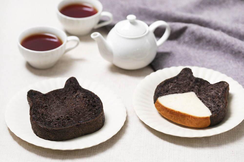 """ねこ型高級食パン専門店「ねこねこ食パン」に""""真っ黒ねこ""""の新作、チョコチップ入りココア生地を使用 -"""