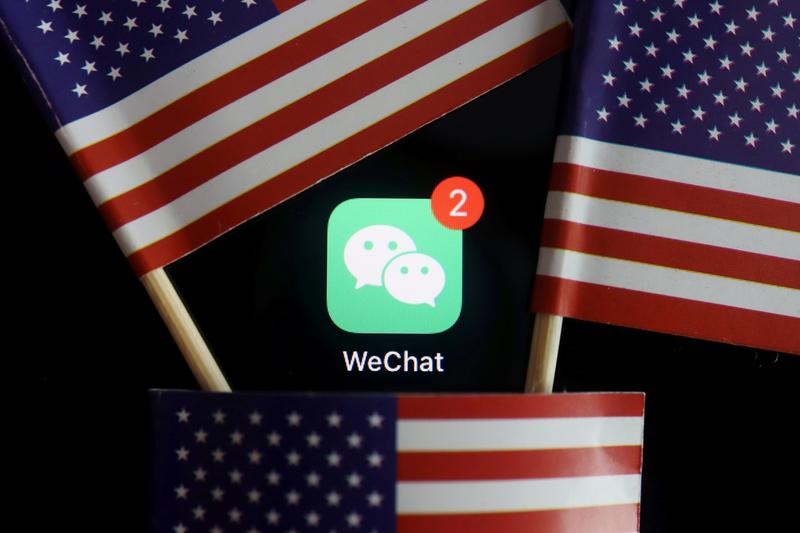 U.S. says WeChat users will not be penalized https://t.co/v3HaHXIsAi https://t.co/T6GFuh7PZw