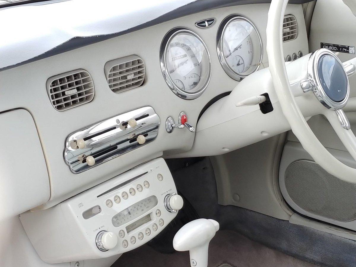 test ツイッターメディア - 超絶可愛い車、日産フィガロを納車しました。 十数年前アメ村で見て一目惚れし、将来は絶対にフィガロに乗ると決め、ようやく念願叶いました🙏 29年落ちのご老体なので無理はせず、のんびり楽しみます☺️ https://t.co/xwH1TOc6hF