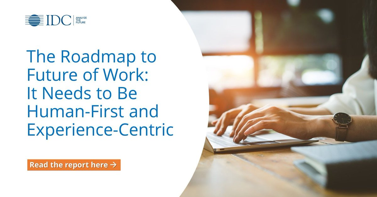 How can you prioritise your people in these rapidly changing times? Learn how as this report tackles @IDC's #FutureOfWork research & its 3 building blocks — workspace, workforce & workculture. Read more: https://t.co/MYnLrudDAM https://t.co/5TxWWcomEh