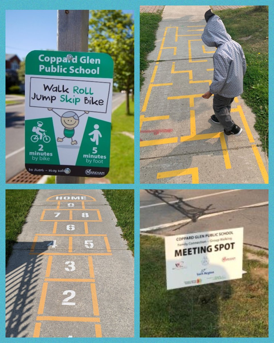Our first #WalkingWednesday of the new school year! Let's get active Coppard Cubs! Special thanks to our parent volunteers!  @OntarioAST @YRDSB @cityofmarkham @CECEast #activeschooltravel #walkrollbus #activeschools https://t.co/boiI3UUk4f