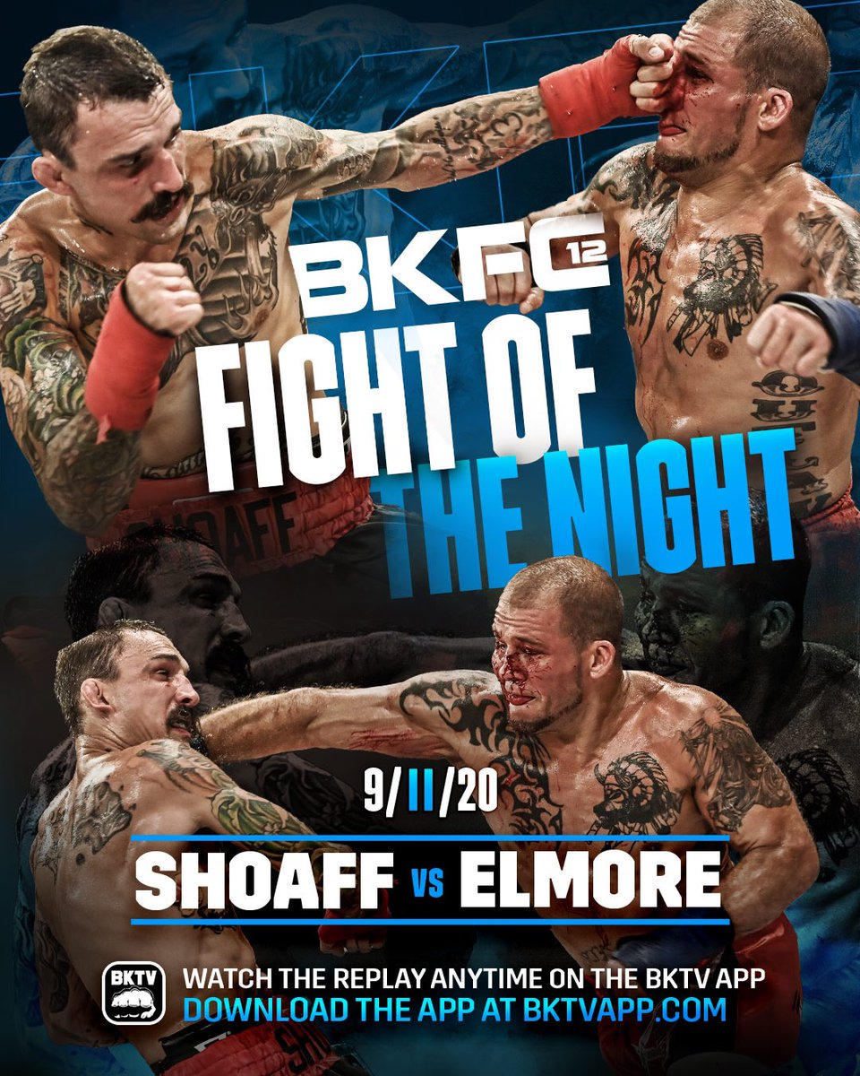 @bareknucklefc #BKFC12  #FightOfTheNight #JoeHitman187 @JoeElmore16 #JoeHitmanElmore #FighterLife #Fighter #BareKnuckle #BloodBath https://t.co/m8zlHx9sXm