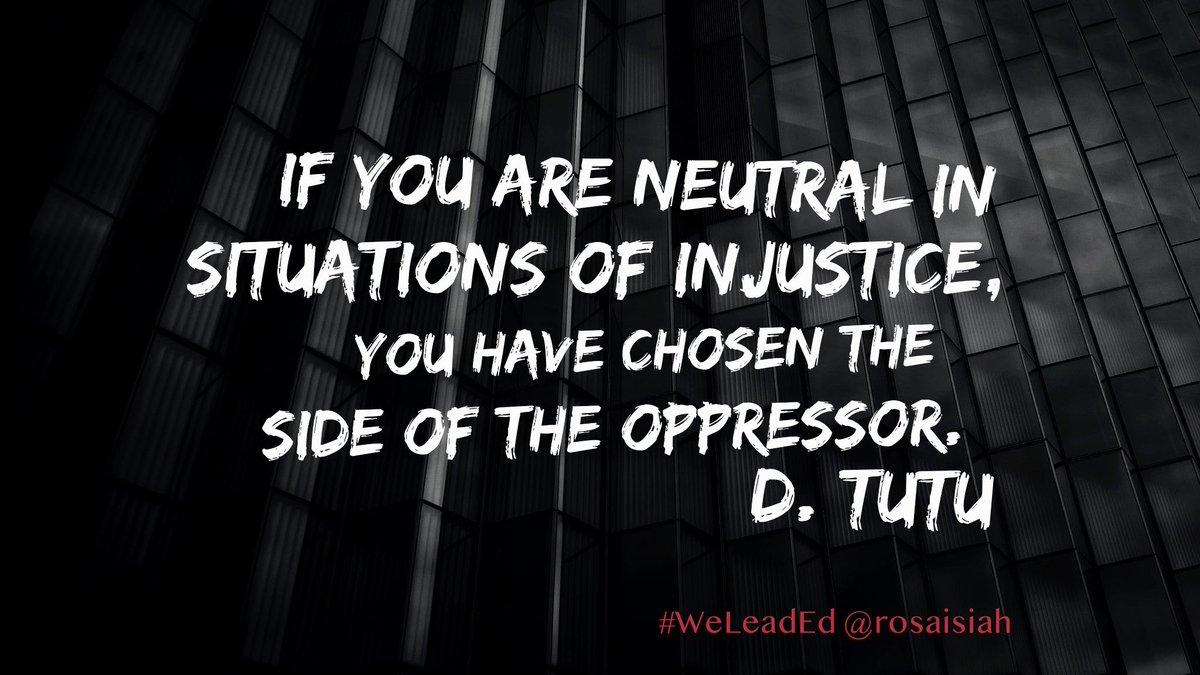 Start a conversation that matters.   #WeLeadEd #SocialJustice #Equity #Edleaders #BlackLivesMatter ...still. #Cleartheair #Vote #WomenEd #mtedchat #cultureEd https://t.co/AZCchWrKRK
