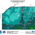 Image for the Tweet beginning: Patchy frost is expected away