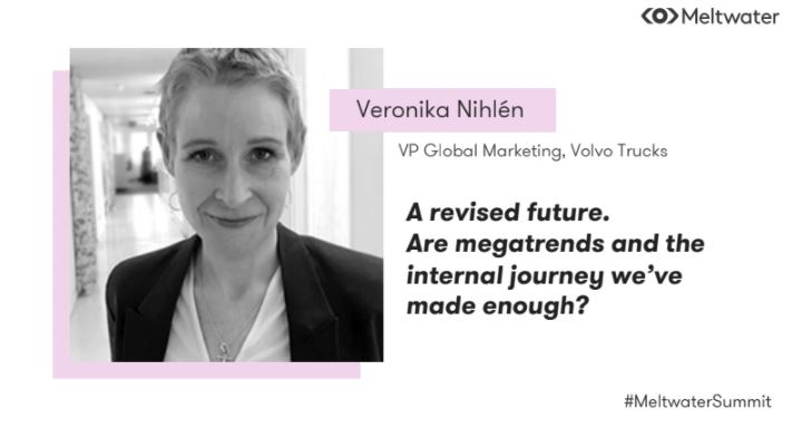 """""""Perform and transform"""" 💡  The last (..but not least ❤️) #MeltwaterSummit speaker is Veronika Nihlén from @Volvo 👏 https://t.co/uib8oYHVg5"""