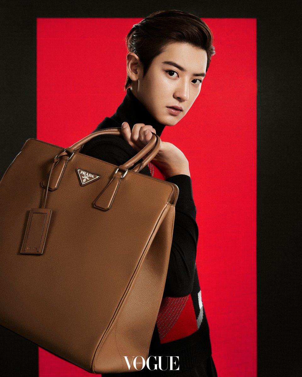 #CHANYEOL becomes the ambassador of '#Prada'🍒 '#프라다 앰버서더'로 선정된 #찬열🍒  Check out how he pulls off the classic yet futuristic new collection via <#Vogue> Korea 클래식함과 미래주의적 디자인이 조화롭게 어우러진 새로운 컬렉션을 소화한 찬열을 <#보그>코리아에서 만나보세요 https://t.co/iE5B6mH8kJ