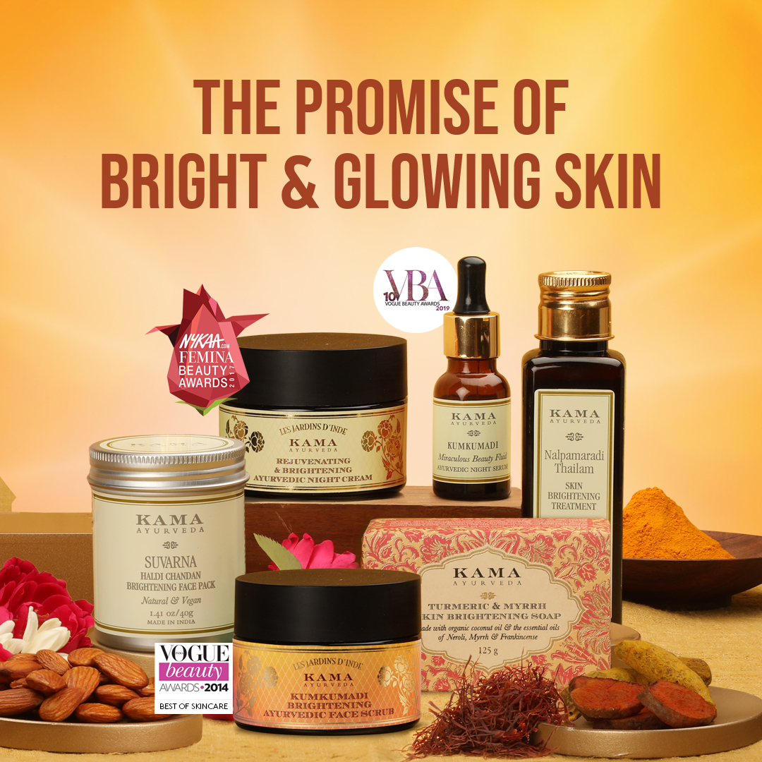 Bring out your true beauty with our authentic, time-tested range of Ayurvedic Beauty Products.  Shop online, in-store, or speak with our #Ayurveda Beauty Experts for essentials that reveal your #natural glow!  Visit: https://t.co/G1lkRKAxp1 or call: 1800-123-2031  #KamaAyurveda https://t.co/vHbiK25ubB