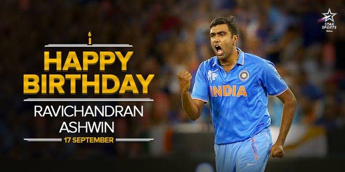 Happy Birthday Ravichandran Ashwin....