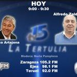 Image for the Tweet beginning: #BuenosDías Hoy en La Tertulia de