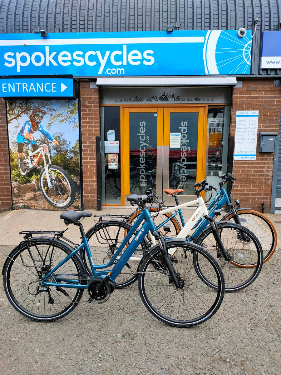 "The Cyclescheme retailer of the week is @Spokescycles in Dundee for their five star review - ""Staff were great and a gentleman called Gordon was excellent in helping me. Will definitely be back again as Gordons' knowledge really helped."" https://t.co/x8DsOwGPox"