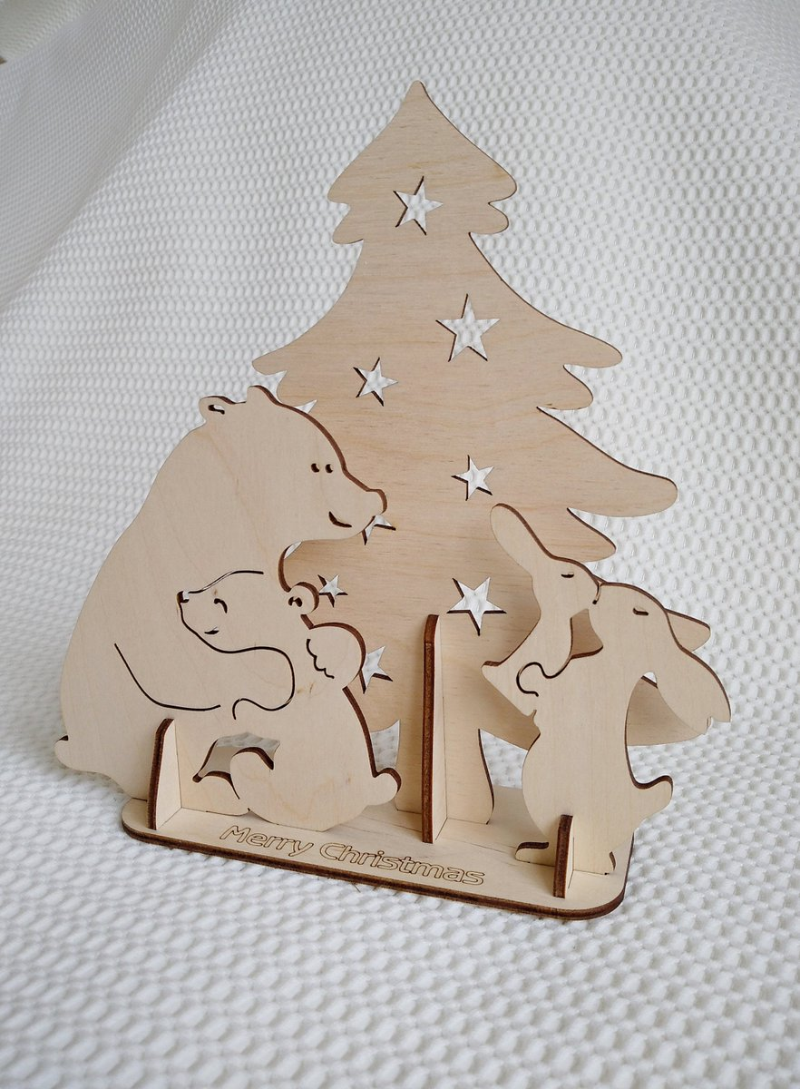 Excited to share the latest addition to my #etsy shop: Christmas card, gift 3D Puzzles vector svg dxf files for laser cut. Laser template Christmas greetings, Laser model Christmas souvenir card. https://t.co/124XDaZ4FO #babyshower #christmascard #3dpuzzles #christmasg https://t.co/BL4uzhXM6J