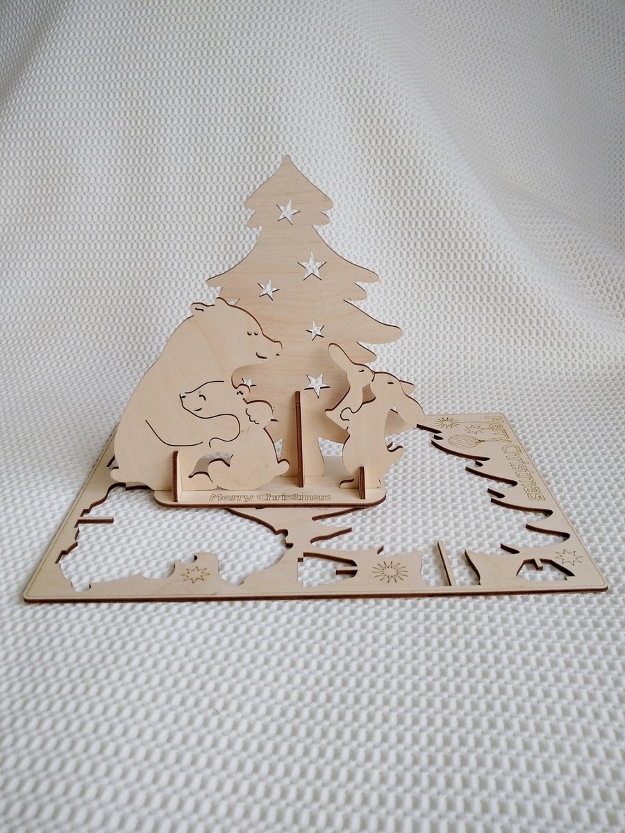 Excited to share the latest addition to my #etsy shop: Christmas card, gift 3D Puzzles vector svg dxf files for laser cut. Laser template Christmas greetings, Laser model Christmas souvenir card. https://t.co/5ohf9t6gTc #babyshower #christmascard #3dpuzzles #christmasg https://t.co/mgEmMtHdbq