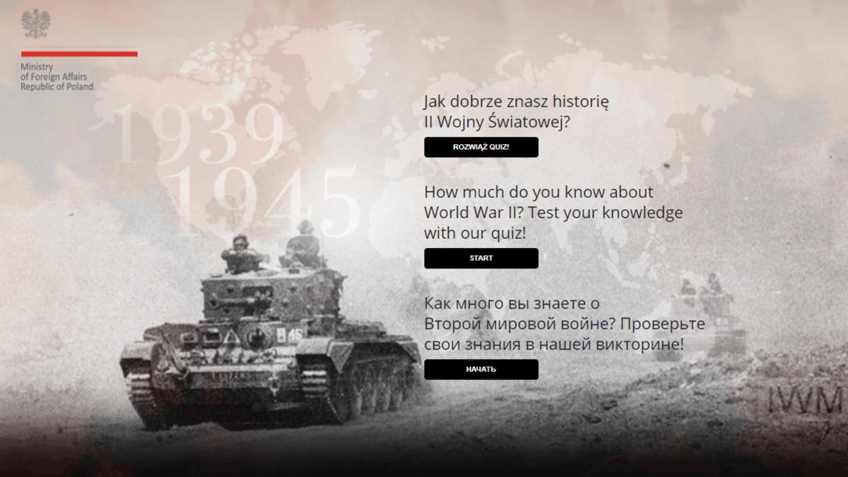 17. září 1939 je významným dnem v historii 🇵🇱 a v průběhu druhé světové války.  Víte proč?  Odpověď na tuto a další otázky najdete v našem historickém kvízu o druhé světové válce.  ➡️ https://t.co/sJh1kHoEuV https://t.co/lRRCyKs29q