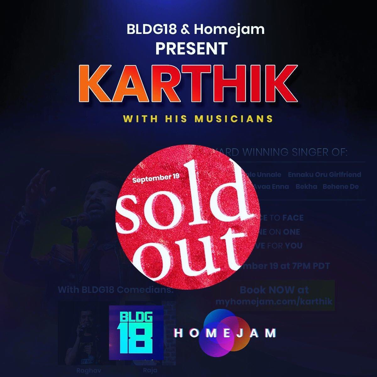 Thank you guys! See you all there😊  #MyHomeJam https://t.co/2IHRMMpd60