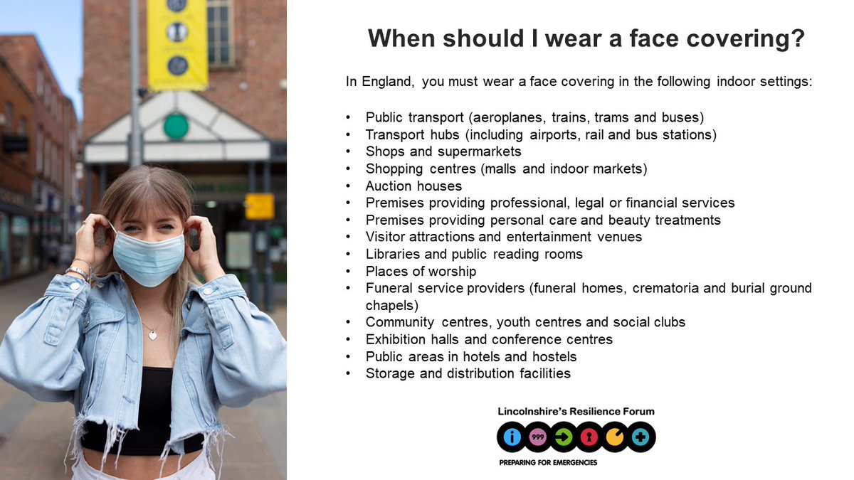 When should you be wearing a face covering? You can read the full guidance here, including how to make your own.   https://t.co/ainJuP79Q4 https://t.co/MF8lcPBhlp