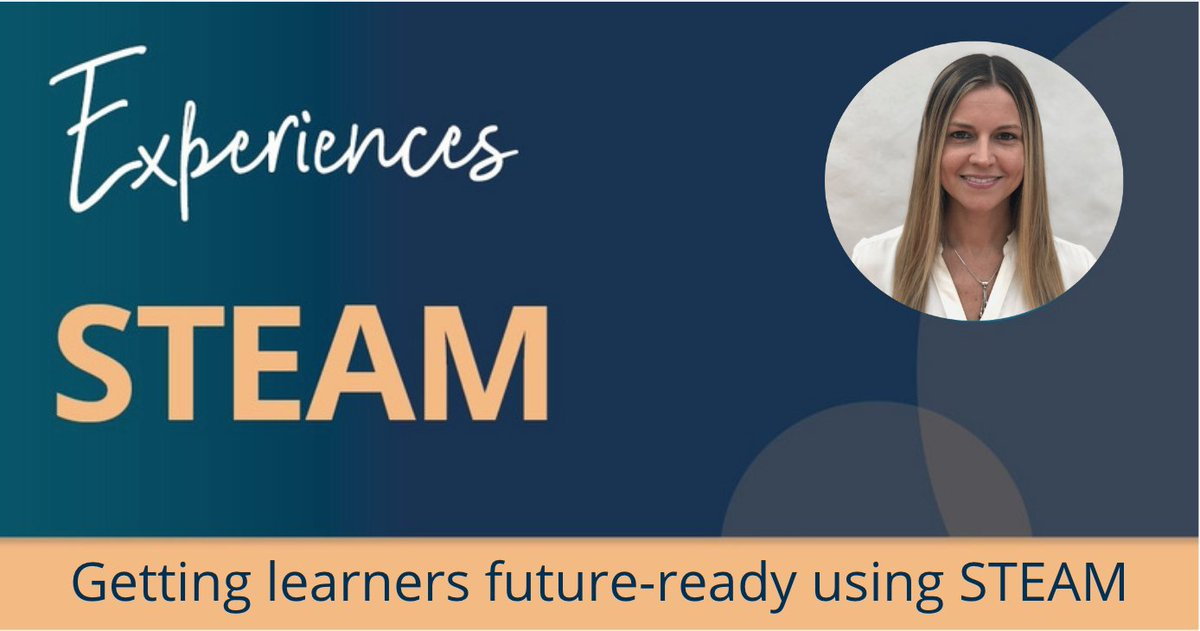 """Join Sarah Hillyard at #InnovateELT 2020 this Saturday 19th September at 12:05 (CEST).  In her workshop she'll be sharing ways in which primary teachers can get their learners """"future-ready"""" using STEAM.   Find out more and sign up here: https://t.co/FPWJiuiE52  #iELT20 #STEAM https://t.co/ozqwhZC88q"""