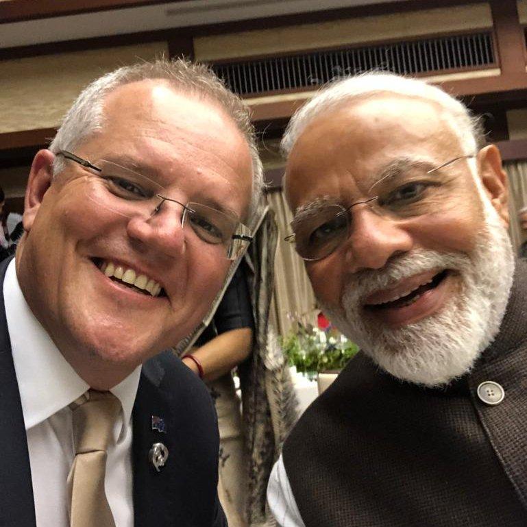 मेरे प्रिय मित्र @narendramodi आपको जन्मदिन की बहुत शुभकामनाएँ| मुझे विश्वास है कि आने वाले साल में भारत और आस्ट्रेलिया के संबंघ नई ऊँचाईयों पर पहुँचेंगे| आपका दिन मंगलमय हो| जल्दी मिलेंगे |