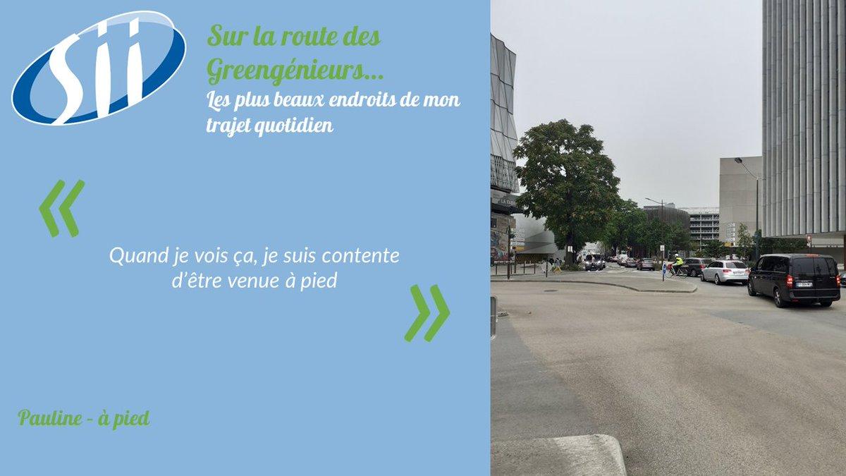 Ce matin, Pauline nous partage sa joie de venir en marchant, face aux embouteillages. Elle a raison : l'air intérieur d'un véhicule peut être jusqu'à 4 ou 5 fois plus pollué que l'air ambiant de la rue. #EMW2020 #SEM2020 #BougeonsAutrement #MobilityWeek #ODD13 https://t.co/DSLn8vSbx2