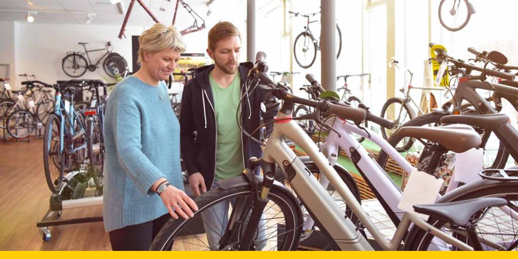 Bij het kopen van een elektrische fiets moet je met verschillende zaken rekening houden. Wij leggen je graag uit waar je op moet letten: https://t.co/xmmG7zeaHr https://t.co/QCPPZ8toRl