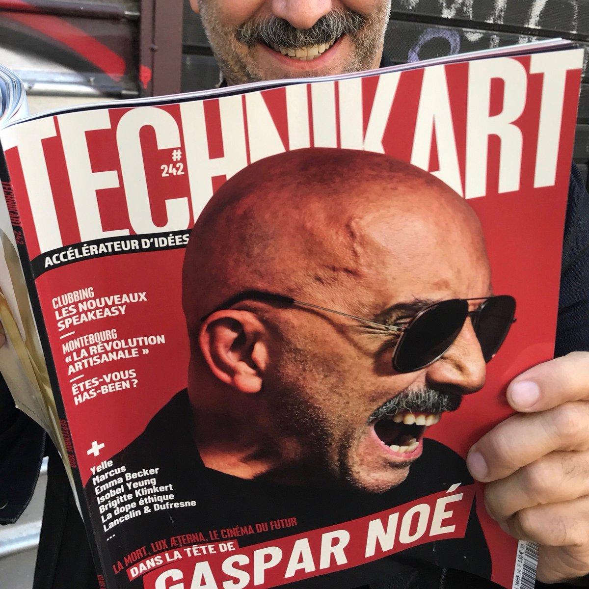 Vous avez vu le dernier numéro de @Technikartmag ?   Le dernier film de #GasparNoe, #LUXÆTERNA, tournage maudit avec Charlotte Gainsbourg et Béatrice Dalle c'est le 23 septembre au cinéma ! 🚨💥 https://t.co/c60C0lsXNb