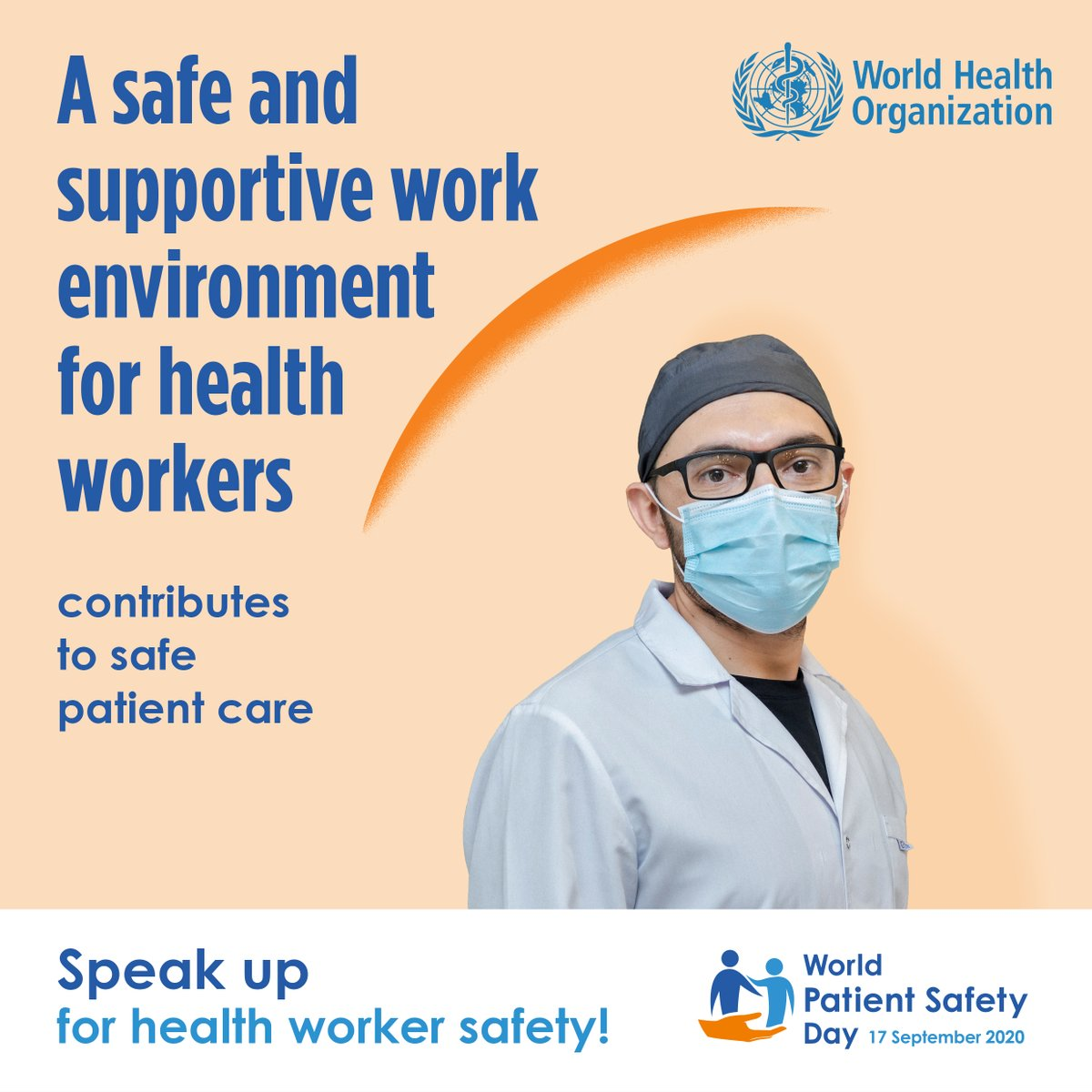 It's #WorldPatientSafetyDay   We can only keep patients safe when we keep health workers 👩🏽⚕️👨🏻⚕️ safe.    👉 https://t.co/fmrHOsTS2u https://t.co/XEq2PFmAd6