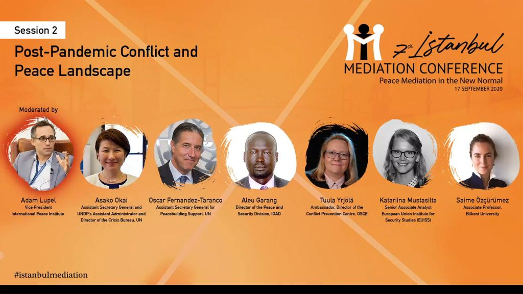 The 7th #istanbulmediationconference  to be opened by Minister @MevlutCavusoglu and UNSG @antonioguterres will continue with the panels bringing together prominent names in the field of #mediation. #istanbulmediation  #mediationforpeace https://t.co/vhCQp4Hp6O