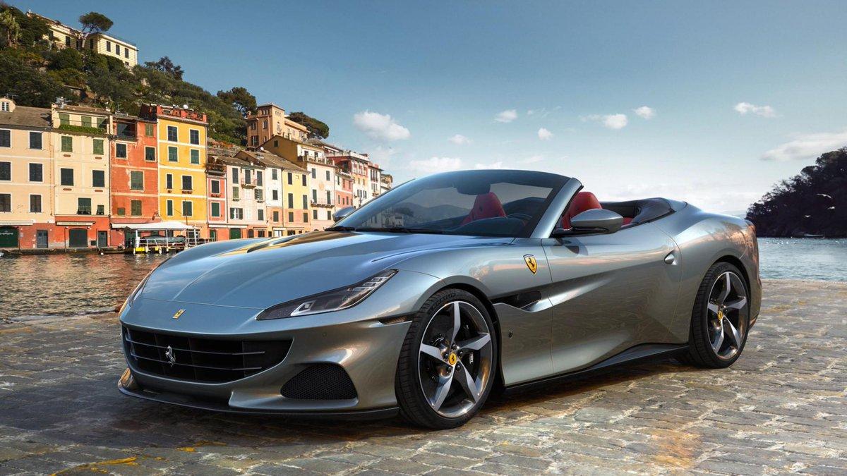 The Ferrari Portofino M is a newly racy convertible. Ferrari's 'entry model' gets sharper gearchanges, a Race mode and over 600bhp → https://t.co/f9O6xN6BIr https://t.co/I0pmXbQ6hJ