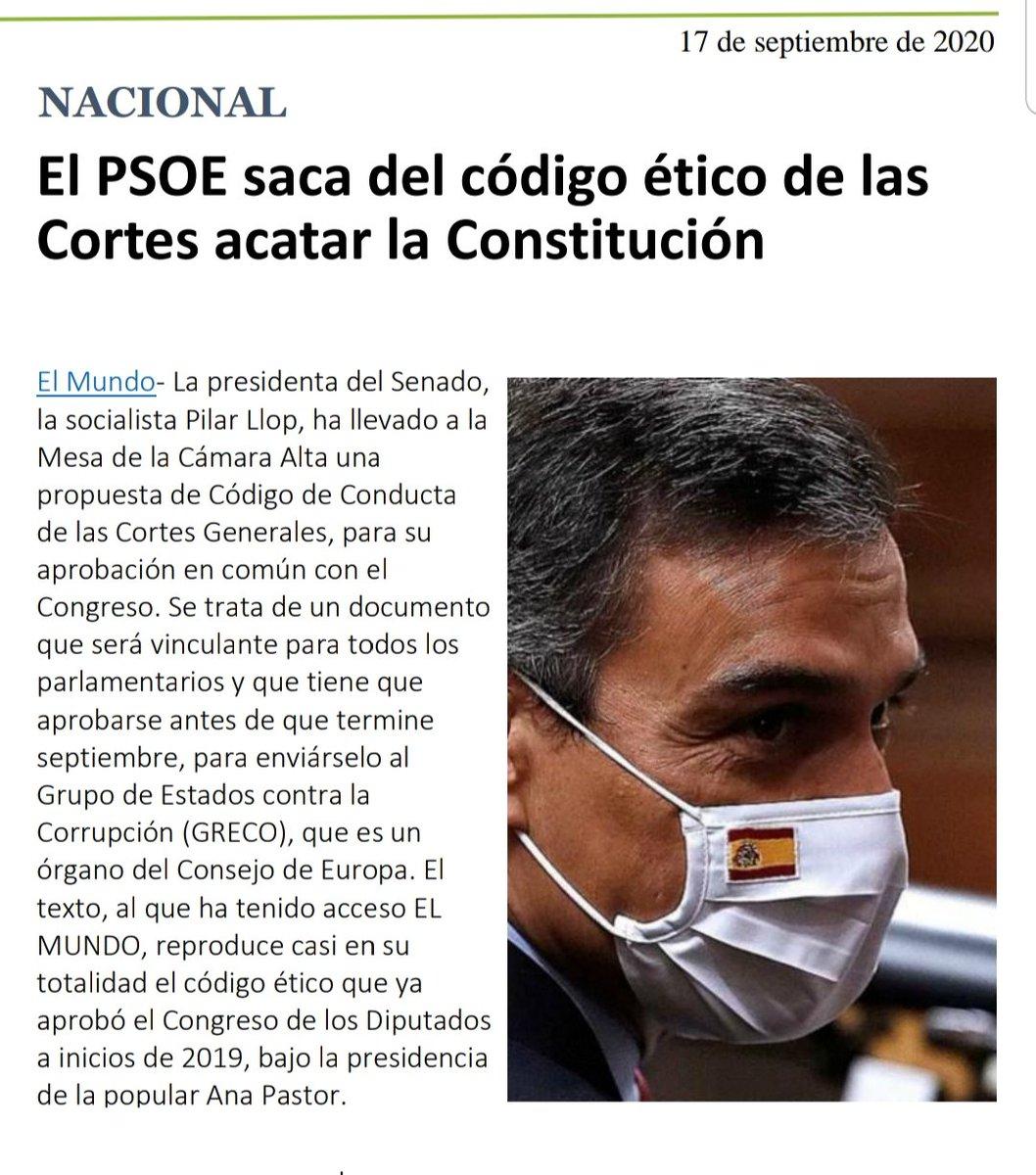El PSOE es ya un enemigo declarado de la Constitución, de la libertad, de la concordia y de la paz entre los españoles.   Y su gobierno está en manos de las mafias del narcocomunismo y del golpismo separatista.  Esto no sorprende ya. Quieren derribar la Monarquía constitucional https://t.co/4p4Nggsusb