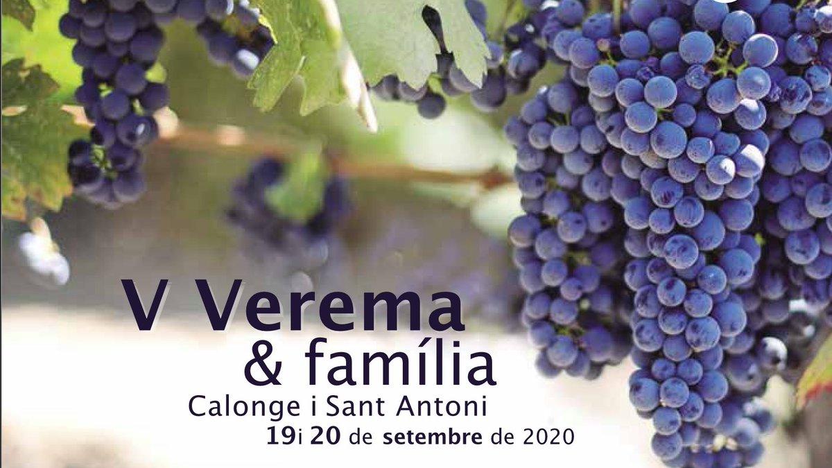 👨👨👦👦 @CalongeStAntoni celebra aquest cap de setmana la 5a edició de Verema & Família🍷amb activitats com un berenar entre vinyes @Closdagon o un curs d'iniciació al tast al Celler #Viníric Amb la col·laboració d'@EmpordaWine  👉  https://t.co/wAMdlaDse0 #incostabrava #ajudemnos https://t.co/pSOUKMY7hZ