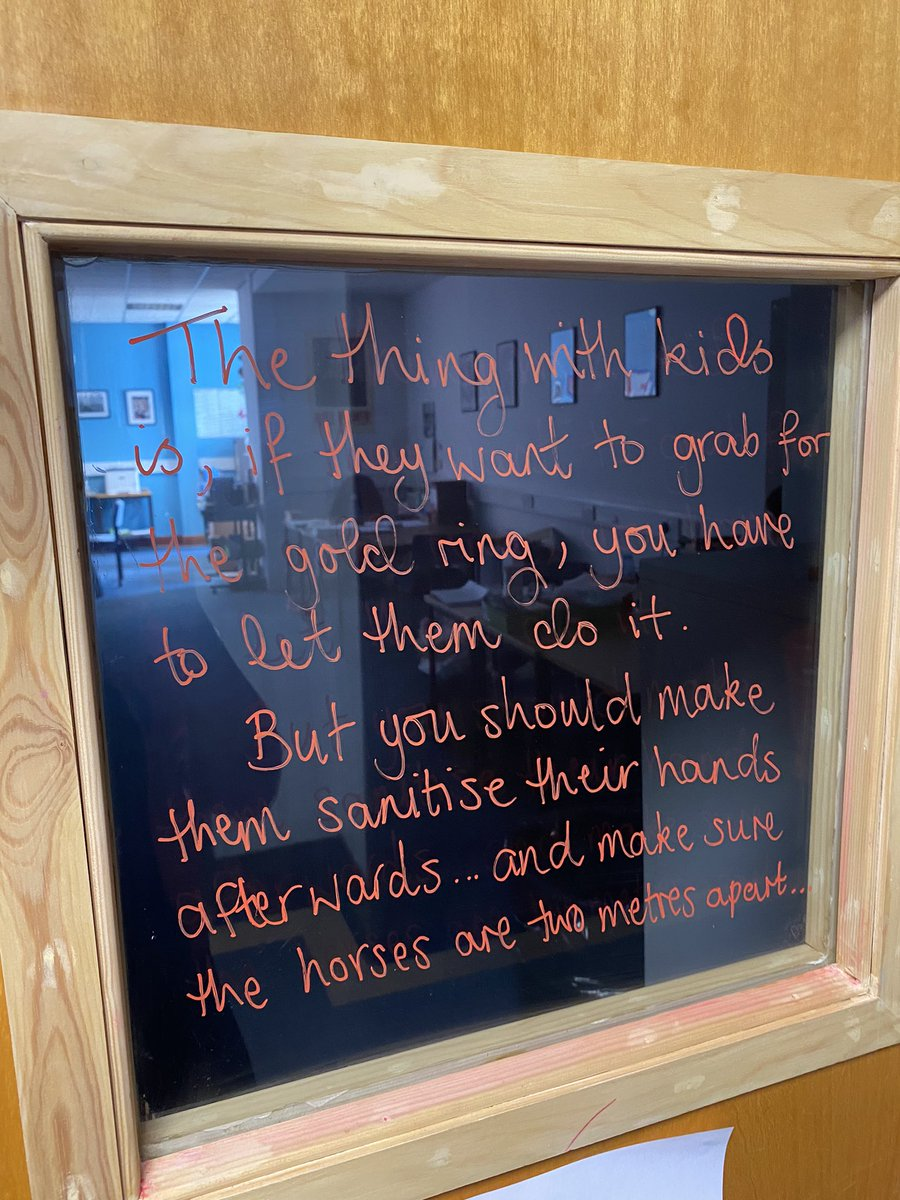 Today's window words come from Ms Bradley's favourite novel. Hopefully her Higher class will get the reference? #beoneofus https://t.co/HAZsG7mlqa