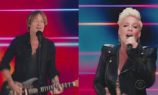 keith-urban-and-pink-perform-their-new-collaboration-one-too-many-for-the-first-time-at-acm-awards Photo