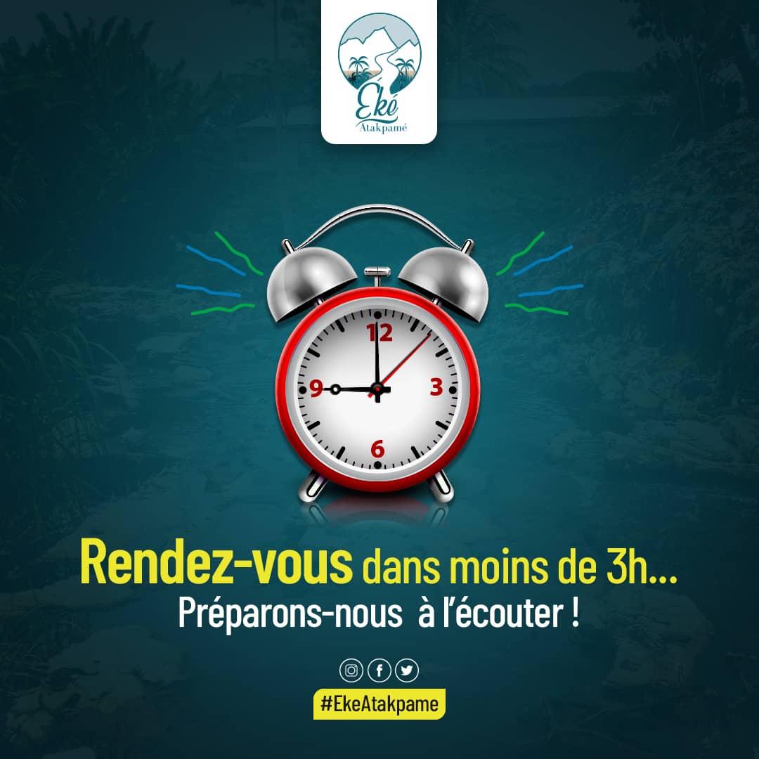 Plus que quelques heures...... 😉 @YawaKouigan @RolandeAziaka @rofeldo @Togolize @yao_toyo @republicoftogo @24Heureinfo @Africardv @TanceDeguenon @Nihade_Climeo https://t.co/uqHKs8CluK
