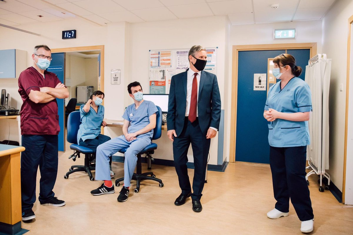 Staff at the Queen's Medical Research Institute in Edinburgh have been on the frontline in the fight against coronavirus and involved in national Covid research programmes.  We owe them so much. https://t.co/buDpLlR246