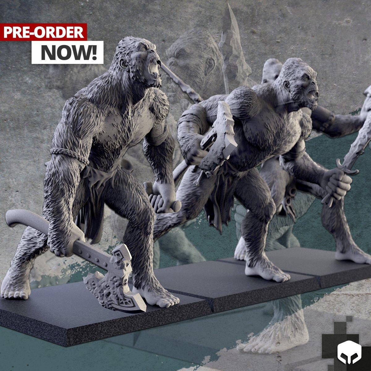 Yetis! Pre Order now! https://t.co/FbfmiDOzKs  #warhammer #warhammer40k #bloodbowl #ogre #GW #9th #theninthage #miniatures #warhammerreforged #aos #ageofsigmar #warhammerfantasy #ogrekingdoms #ogrekhans #gorger #kineater #yetis #paintingwarhammer #ogres #wow https://t.co/xR5I69129X